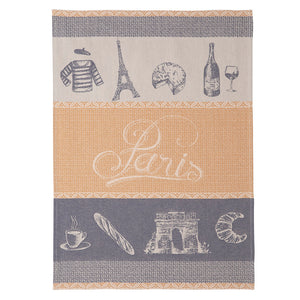 Lutece French Jacquard Cotton Dish Towel by Coucke