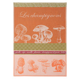 Mushroom French Tea Towel by Coucke