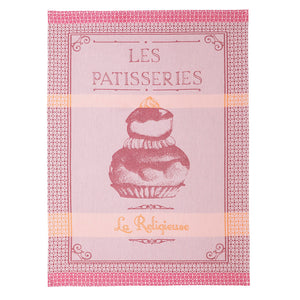 Religieuse French Jacquard Cotton Dish Towel by Coucke