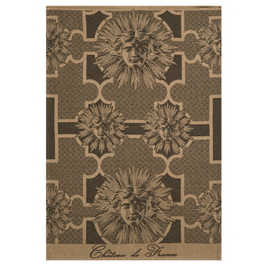 Coucke Porte du Soleil (Sun Door) French Jacquard Dish Towel