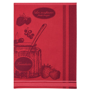 Coucke Pot de Confiture (Jam Jar) French Jacquard Dish Towel
