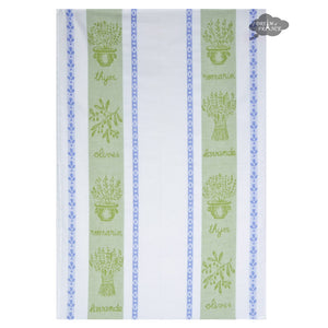 Coucke St Remy Amande French Jacquard Dish Towel