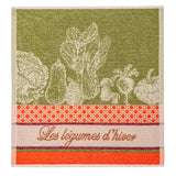 Winter Vegetables French Terry Towel by Coucke