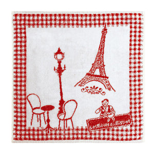 Coucke Terry Square Towel - Bistrot de Paris