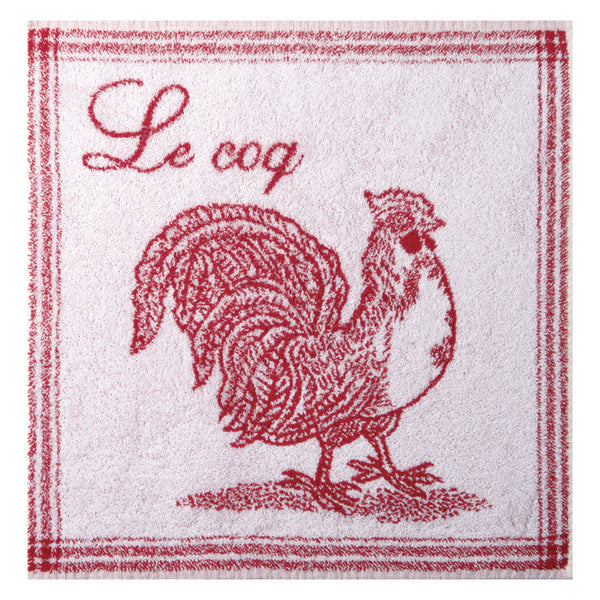 Coucke Terry Square Towel - Le Coq