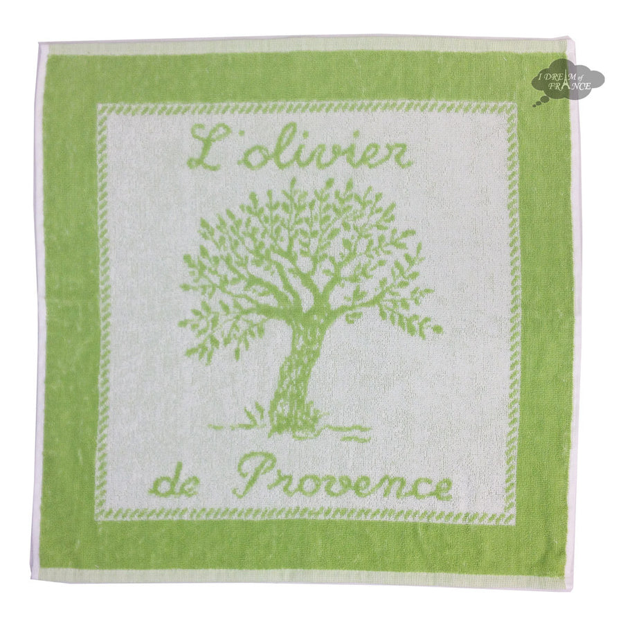 Coucke Terry Square Towel - Olivier Amande