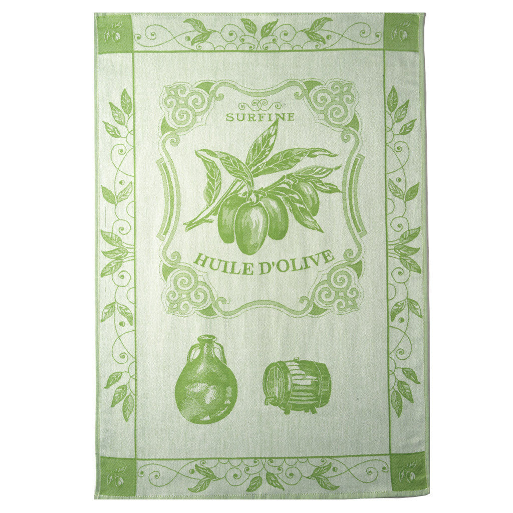 Coucke Huile Surfine French Dish Towel