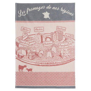 Coucke Cheese Plate French Jacquard Dish Towel