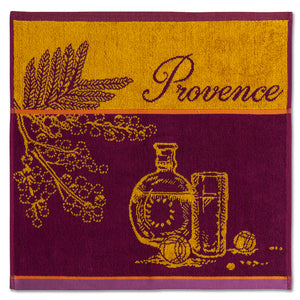 Marche de Provence Terry Square Towel by Coucke