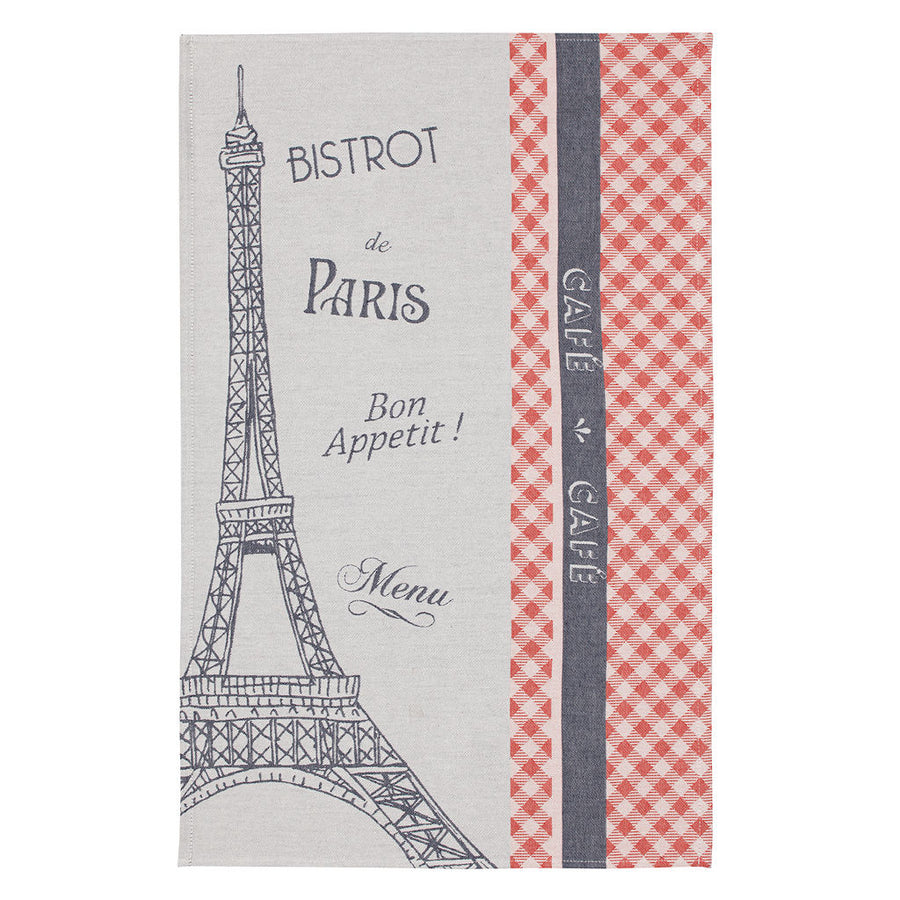 Trocadero French Jacquard Dish Towel by Coucke