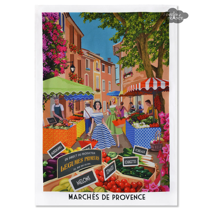 Provence Markets French Kitchen Towel by L'Ensoleillade