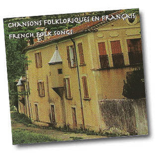 French Folk Songs Music CD