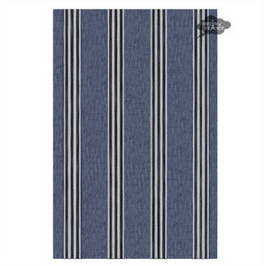 Harmony Corte French Linen Kitchen Towel - Indigo