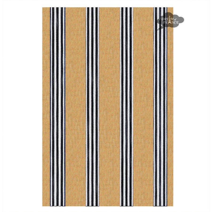 Corte Tan French Linen Kitchen Towel by Harmony