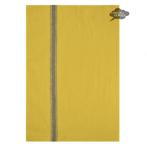 Harmony Vivario French Linen Kitchen Towel - Curry