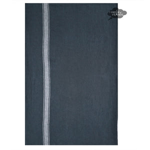 Harmony Vivario French Linen Kitchen Towel - Gray