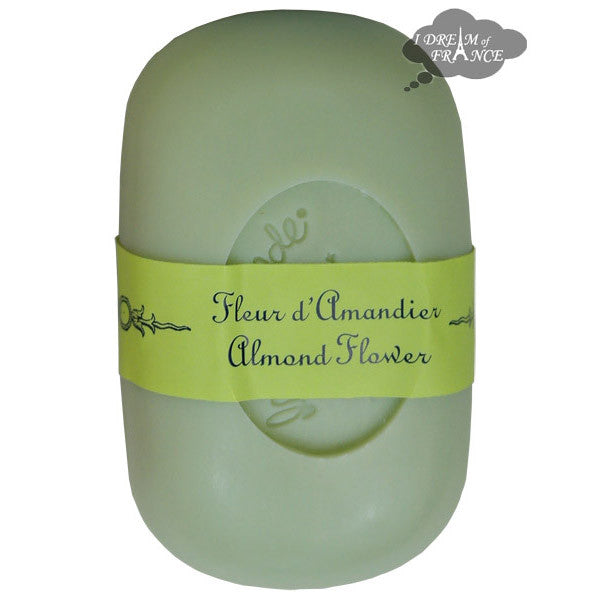 La Lavande French Curved Soap - Almond Flowers