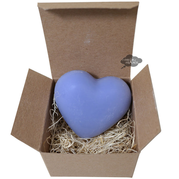 La Lavande Heart Soaps in Eiffel Tower Kraft Box