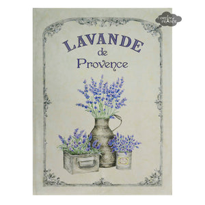 Lavande de Provence French Cotton Kitchen Towel by L'Ensoleillade