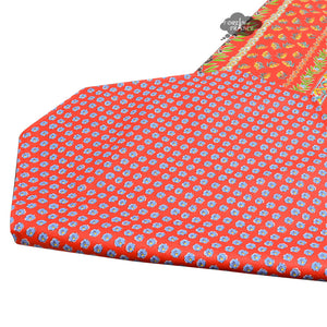 "16x72"" Olives Red Cotton Coated Provence Table Runner by Le Cluny"