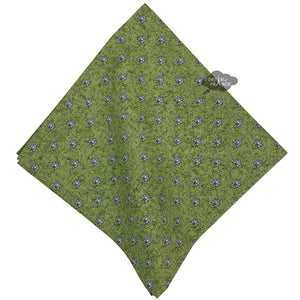 Lavender Green Provence Cotton Napkin by Le Cluny