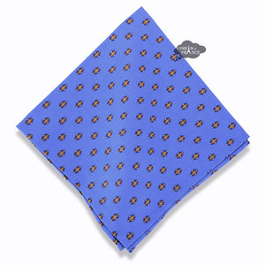 Lisa Blue Provence Cotton Napkin by Le Cluny