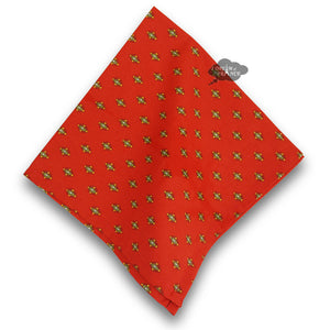 Lisa Red Provence Cotton Napkin by Le Cluny