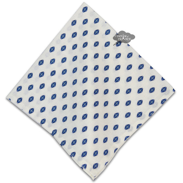 Lisa White Provence Cotton Napkin by Le Cluny