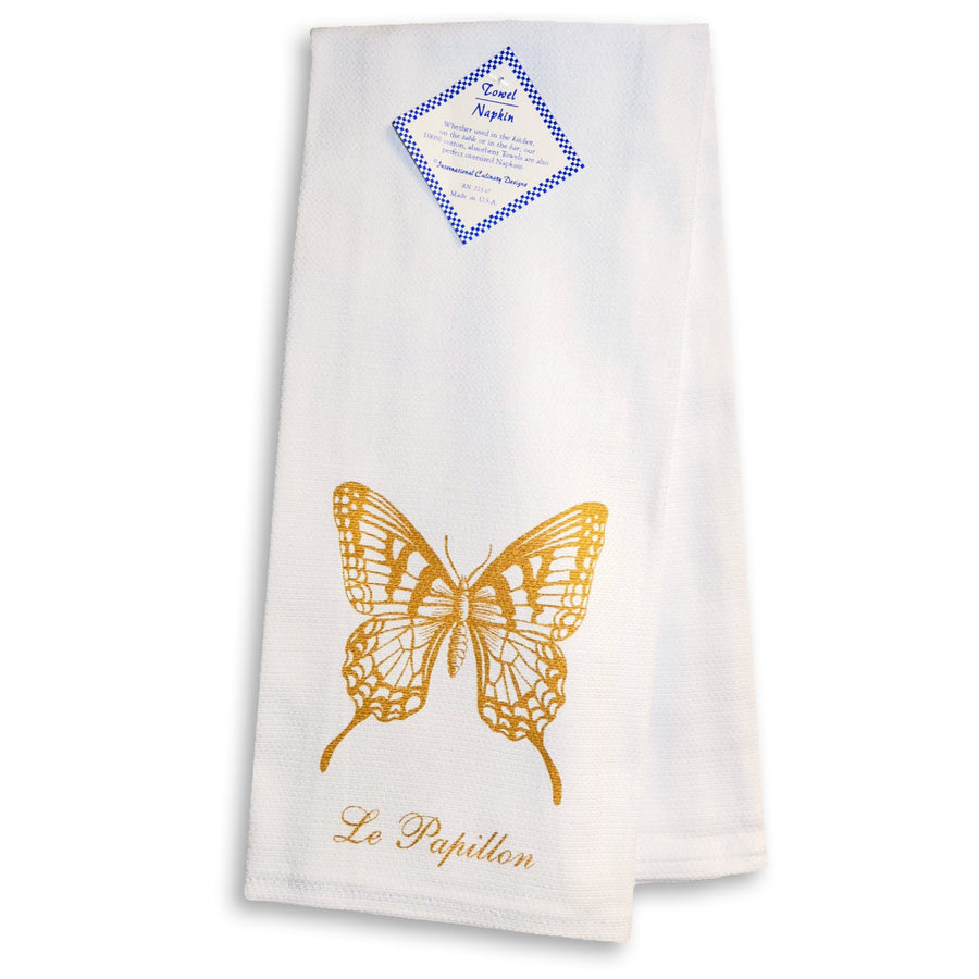 Papillon (Butterfly) Kitchen Towel