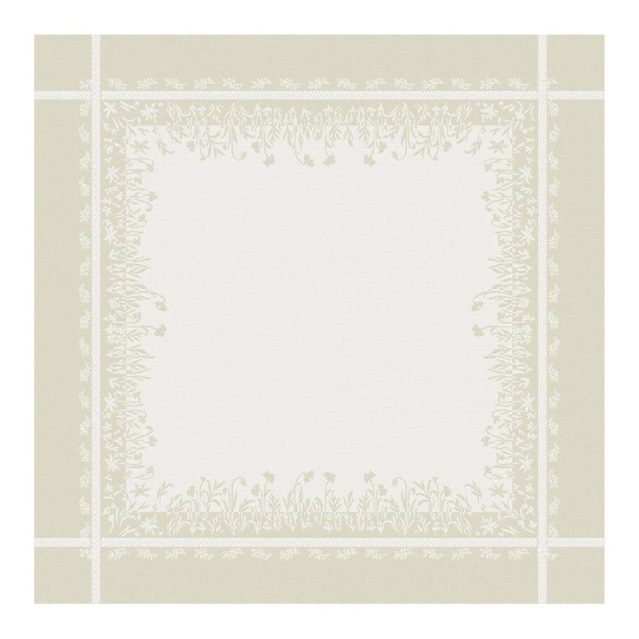 Marseille French Cotton Damask Napkin by Les Tissages du Soleil