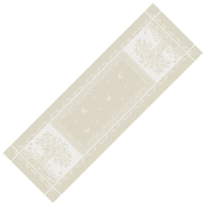"20x64"" Marseille French Damask Table Runner with Teflon"