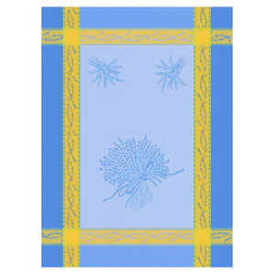 Lavender Panache Cotton French Jacquard Dish Towel - Set of 3