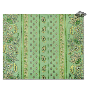 Lisa Pistachio Coated Reversible Placemat by Le Cluny