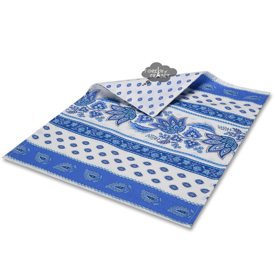 Lisa White Coated Cotton Reversible Placemat by Le Cluny