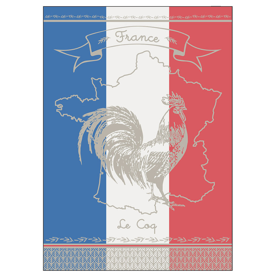 Rooster Jacquard Kitchen Towel by Montolivet