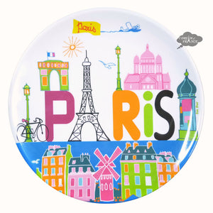 Paris Melamine Lunch/Dessert Plate