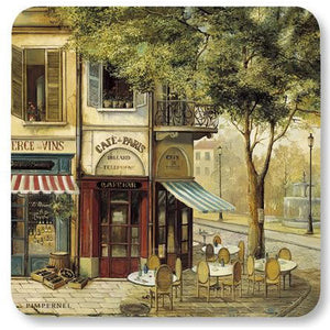 Pimpernel Set of 6 Coasters - Parisian Scene
