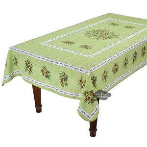 "Provence Olivier French Provencal Tablecloth - 59x92"" Rectangular"