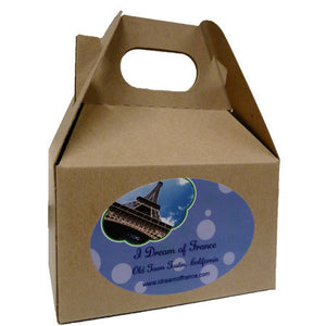 Small Kraft Gift Box with Handle