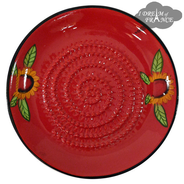 Garlic Grinding Plate - Sunflower