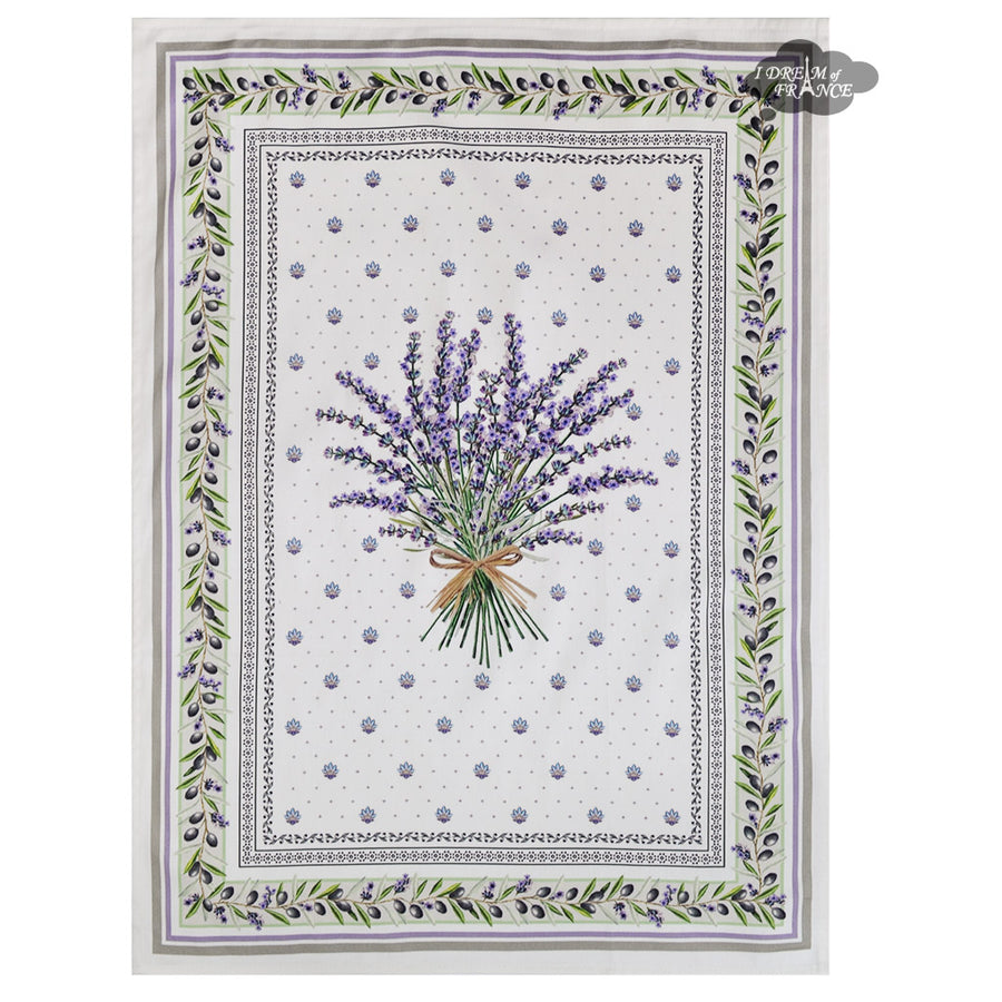 Lauris French Cotton Kitchen Towel by Tissus Toselli