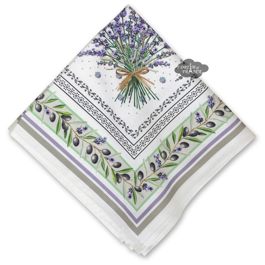 Lauris Provence Cotton Napkin by Tissus Toselli
