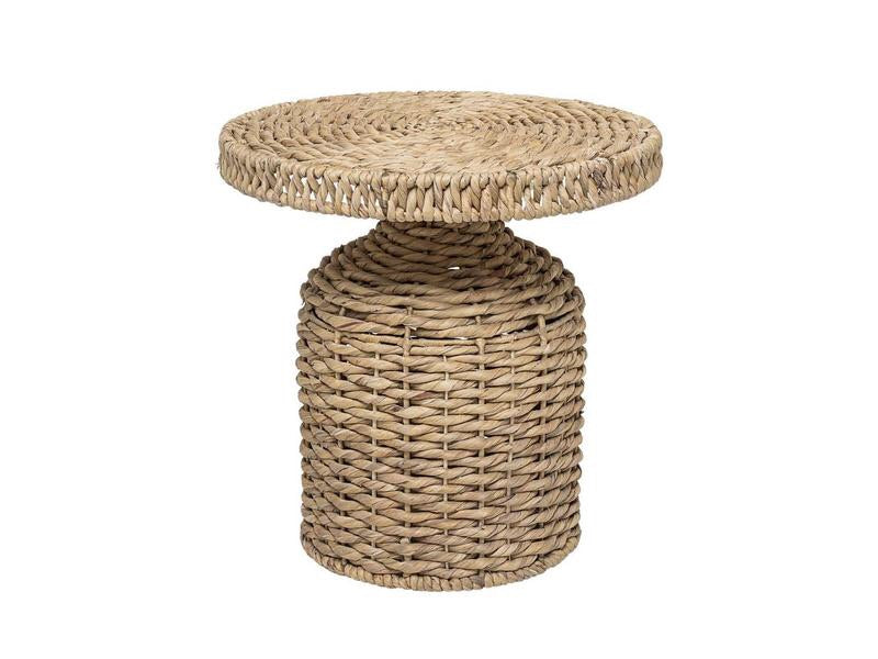 Woven Water Hyacinth Table