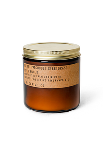 Patchouli Sweetgrass Soy Candle