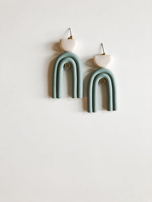 Double Arc Earrings