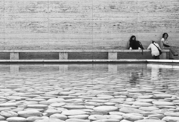 Mies van der Rohe Barcelona pavilion example of minimalist style in architecture