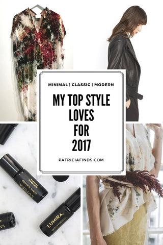 PATRICIA Top Style Loves for 2017 | Lumira | Vince | Rise & Ramble