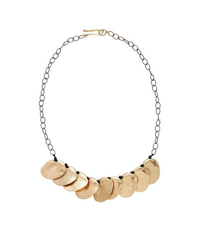 2018 Minimalist Jewelry Style Guide: Talisman Collar by Julie Cohn