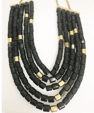Ulinzi necklace by Ashley Pittman
