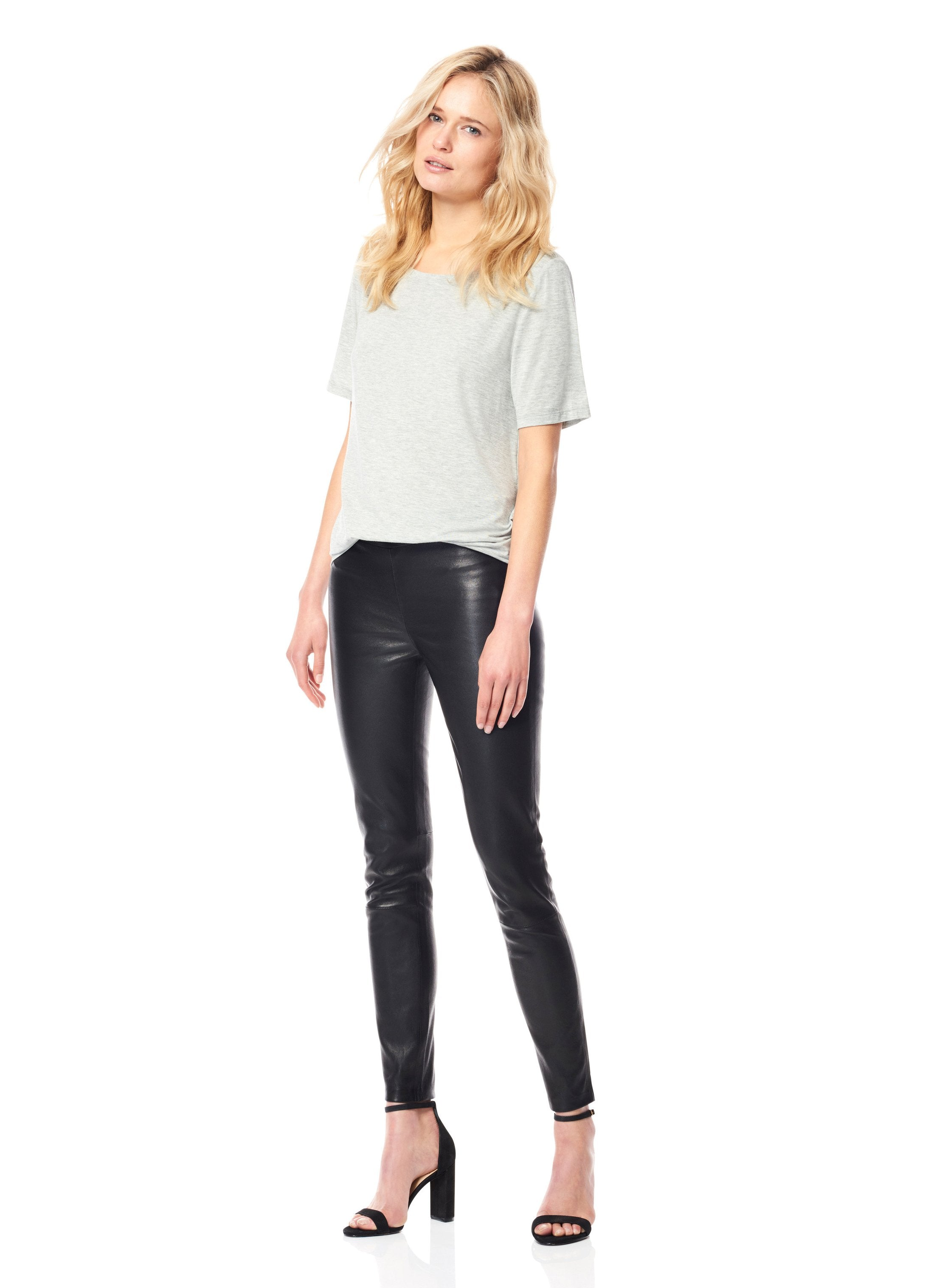 Black ECRU leather stretch legging found at PATRICIA in Southern Pines, NC